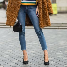 Skinny jeans til dame
