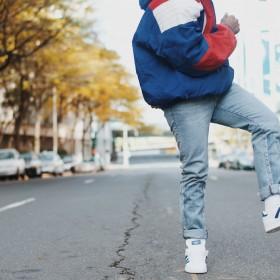 Tapered jeans til herre