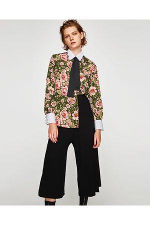 Zara Dame Culotte bukser - CULOTTEBUKSE MED ASYMMETRISK KANT - Tilgjengelig i flere farger