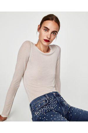 Zara Dame Boyfriend - JEANS THE SLIM BOYFRIEND PEARLS