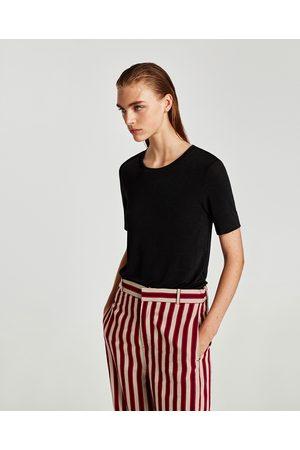 Zara KORTERMET T-SKJORTE - Tilgjengelig i flere farger