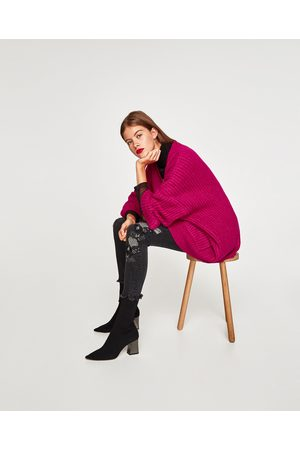 Zara Dame Stretch - POWER STRETCH JEANS MED LAVT LIV