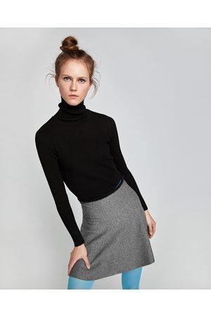 Zara UTSVINGT MINISKJØRT - Tilgjengelig i flere farger