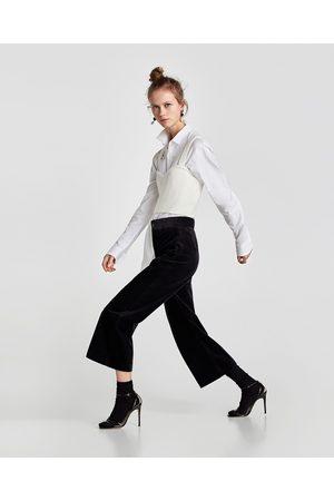 Zara Dame Culotte bukser - CULOTTEBUKSE I KORDFLØYEL