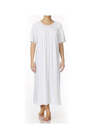 Griffin Calida Soft Cotton Nightshirt 34000 White * Fri Frakt *