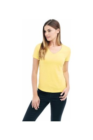 Classic V-Neck Women T-shirt * Fri Frakt