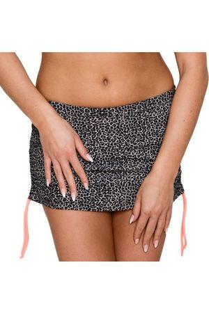 Saltabad Dame Briefs - Leo Bikini Skirted Brief With String * Fri Frakt