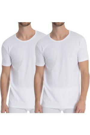 Calida Herre Kortermede - 2-pakning Natural Benefit T-shirt * Fri Frakt