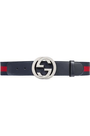 Gucci Herre Belter - Web belt with G buckle