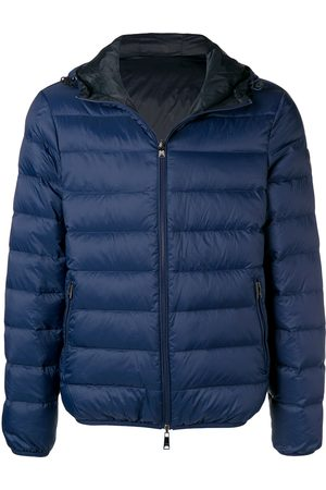 Emporio Armani Front zip padded jacket