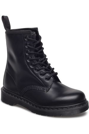 Dr. Martens 1460 Mono Shoes Boots Ankle Boots Ankle Boots Flat Heel Blå