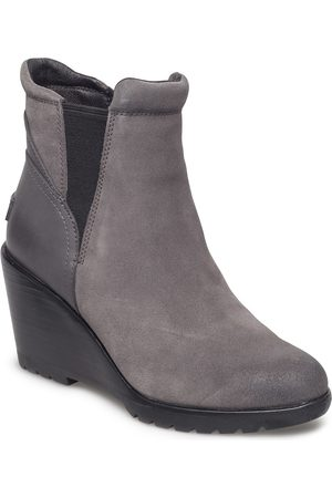 sorel Dame Skoletter - After Hours Chelsea Shoes Boots Ankle Boots Ankle Boots With Heel Grå