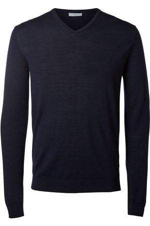 Selected V-neck - Knitted Pullover