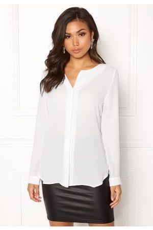Vila Lucy L/S Shirt White XL