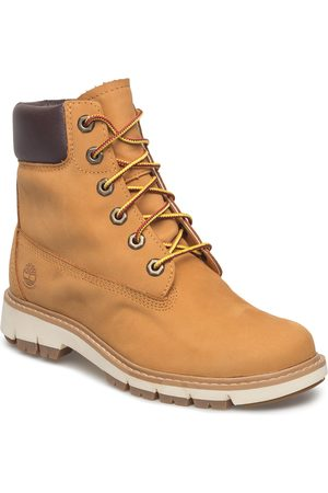 Timberland Lucia Way 6in Wp Boot Shoes Boots Ankle Boots Ankle Boots Flat Heel Brun