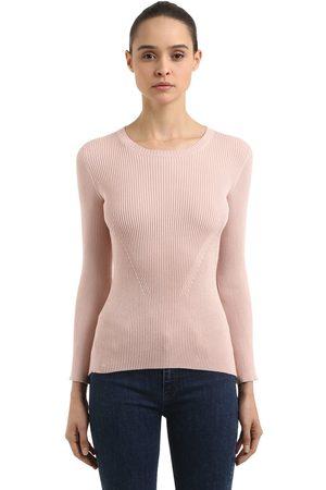 COLIAC Ariete Rib Knit Sweater W/ Snap Buttons