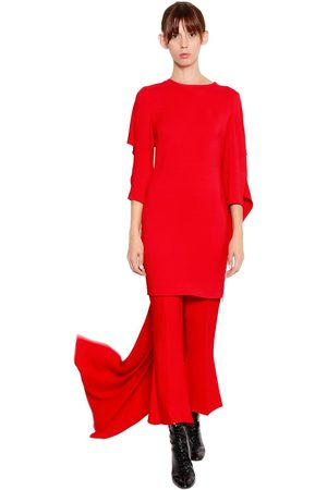 ANTONIO BERARDI Cady Dress With Cape