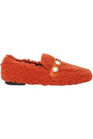 SUECOMMA BONNIE 10mm Furry Faux Shearling Loafers