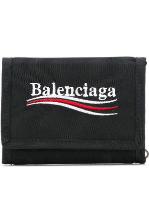 Balenciaga Explorer square coin wallet