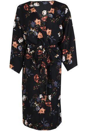 Boohoo Oriental Tie Waist Kimono