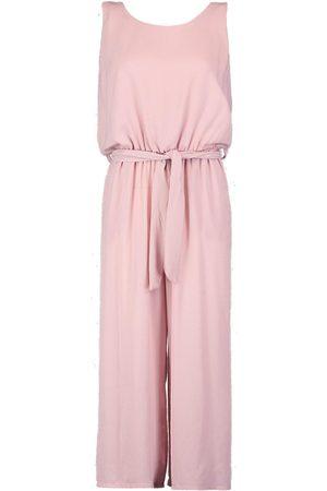 Boohoo Woven Sleeveless Culotte Jumpsuit