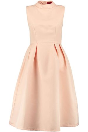 Boohoo Boutique High Neck Prom Dress