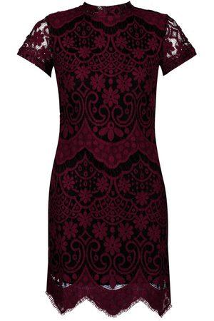 Boohoo Boutique Eyelash Lace Bodycon Dress