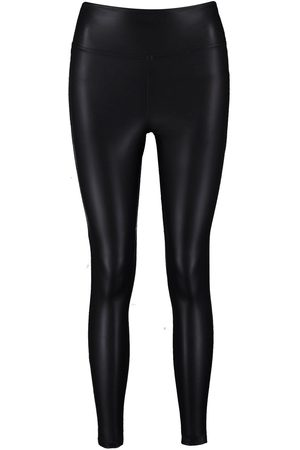Boohoo Leather Look High Waist Skinny Leggings