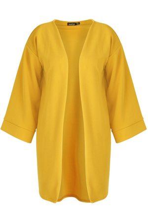 Boohoo Plus Kimono Sleeve Duster