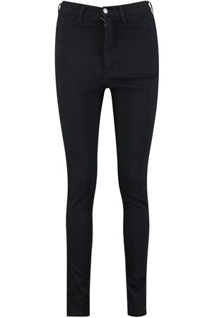 Boohoo Super High Waist Power Strectch Skinny Jeans