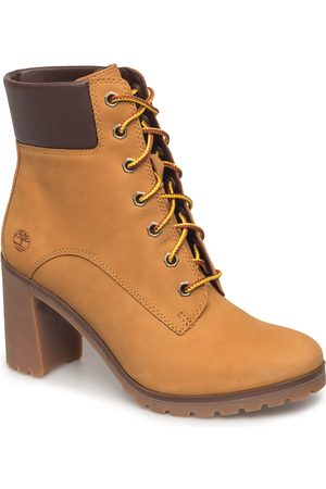 Timberland Allington 6in Lace Up Shoes Boots Ankle Boots Ankle Boot - Heel Brun