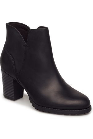Clarks Dame Skoletter - Verona Trish Shoes Boots Ankle Boots Ankle Boots With Heel