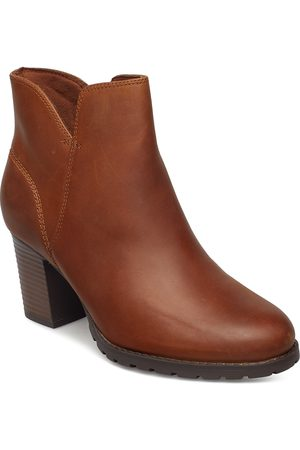 Clarks Verona Trish Shoes Boots Ankle Boots Ankle Boots With Heel