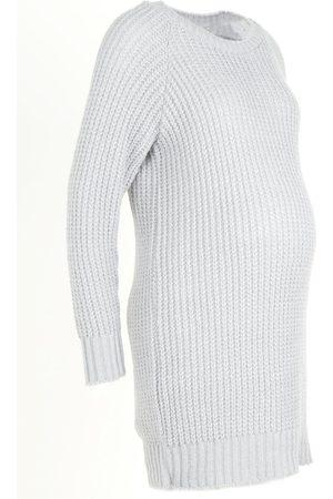 Boohoo Maternity Soft Knit Jumper Dress