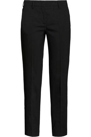 Prada Dame Smale bukser - Cropped slim-fit trousers