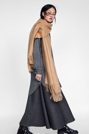 Zara Dame Midiskjørt - 04886255