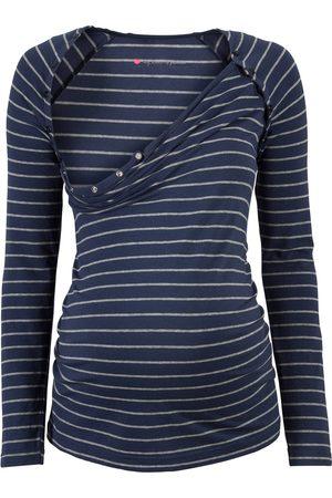 Bonprix Mamma-T-shirt/amme-T-shirt med trykknapper