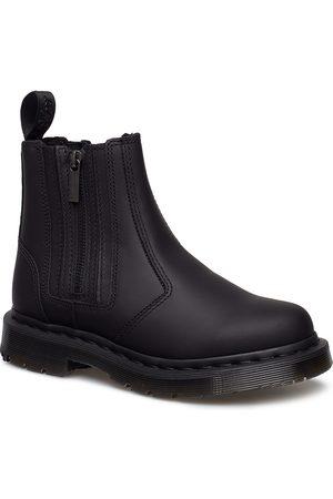 Dr. Martens Dame Skoletter - 2976 Alyson W/Zips Black Snowplow Wp Shoes Chelsea Boots Ankle Boots Ankle Boot - Flat