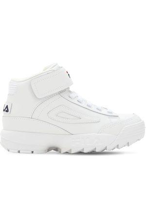 Disruptor Leather Platform Sneakers