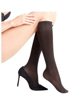 Falke KGaA Falke Women Seidenglatt 40 Den Knee-High Socks