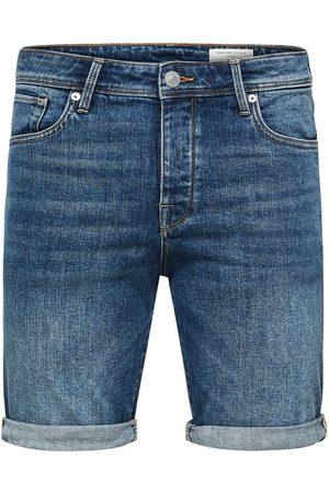Selected Denim shorts Regular fit
