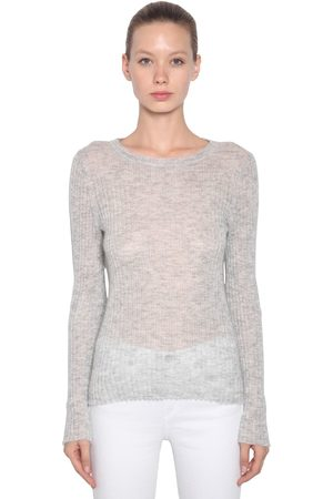 RAG&BONE Mohair Blend Rib Knit Sweater