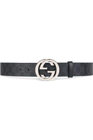 Gucci Herre Belter - GG Supreme belt with G buckle