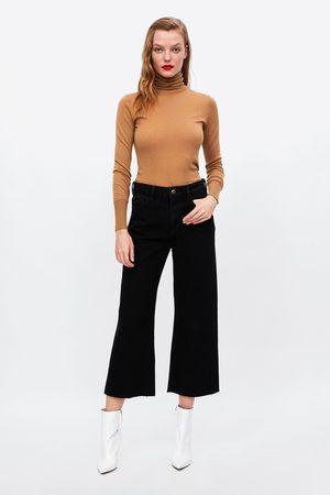 Zara Dame Culotte bukser - CULOTTEBUKSE Z1975 I DENIM