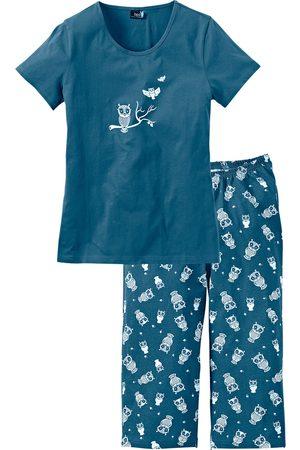 Bonprix Capri pyjamas med korte ermer