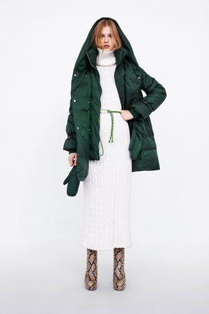Zara Dunkåpe med omslagskrage