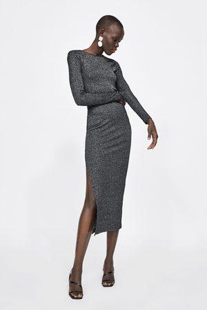 Zara Dame Maxikjoler - Lang kjole med glitter