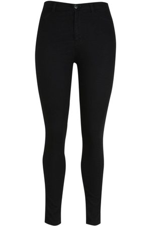 Boohoo Plus Super High Waisted Power Stretch Skinny Jeans