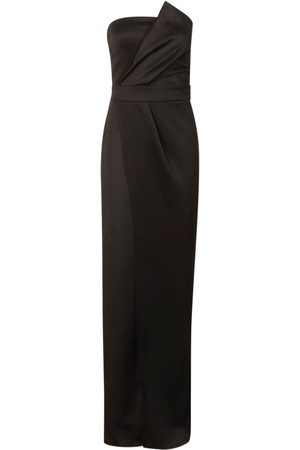 Boohoo Bandeau Wrap Detail Maxi Dress