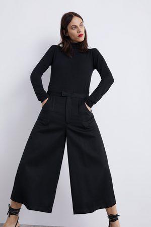 Zara Dame Culotte bukser - KORT CULOTTEBUKSE